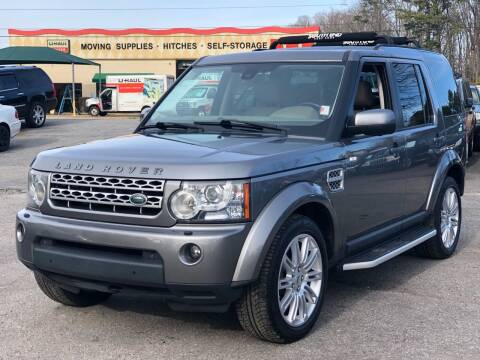 2011 Land Rover LR4 for sale at Atlantic Auto Sales in Garner NC