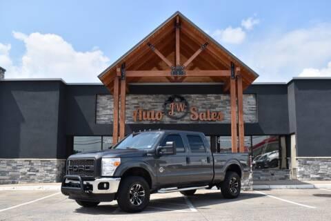 2015 Ford F-250 Super Duty for sale at JW Auto Sales LLC in Harrisonburg VA