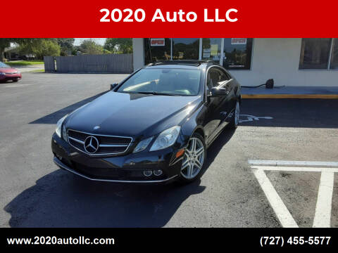 2010 Mercedes-Benz E-Class for sale at 2020 AUTO LLC in Clearwater FL