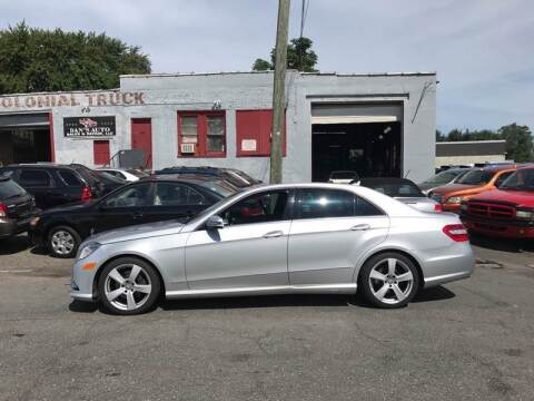 2011 Mercedes-Benz E-Class for sale at Dan's Auto Sales and Repair LLC in East Hartford CT