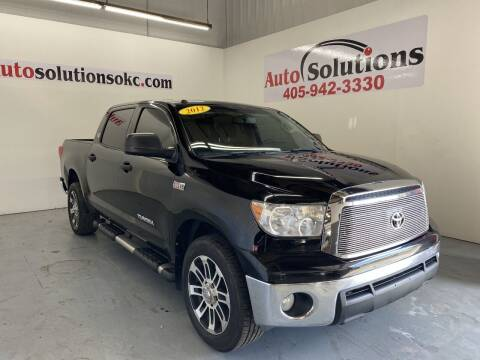 2012 Toyota Tundra for sale at Auto Solutions in Warr Acres OK