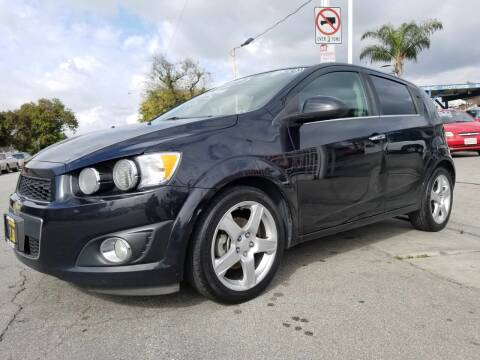 2013 Chevrolet Sonic for sale at Olympic Motors in Los Angeles CA