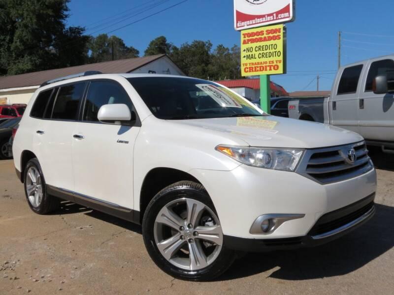 2012 Toyota Highlander for sale at Diego Auto Sales #1 in Gainesville GA