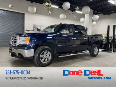 2009 GMC Sierra 1500 for sale at DONE DEAL MOTORS in Canton MA