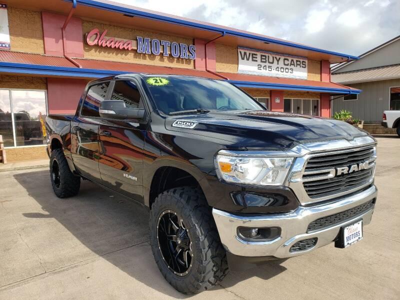 2021 RAM Ram Pickup 1500 for sale at Ohana Motors - Lifted Vehicles in Lihue HI