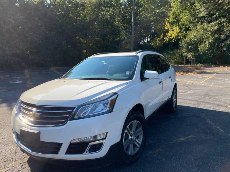 2015 Chevrolet Traverse for sale at Peach Auto Sales in Smyrna GA