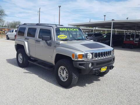 2006 HUMMER H3 for sale at Bostick's Auto & Truck Sales in Brownwood TX