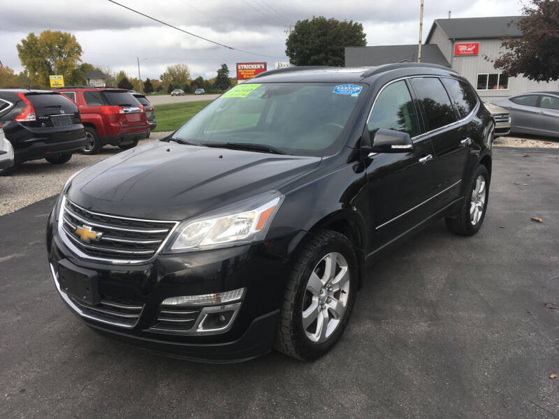 2016 Chevrolet Traverse for sale at JACK'S AUTO SALES in Traverse City MI