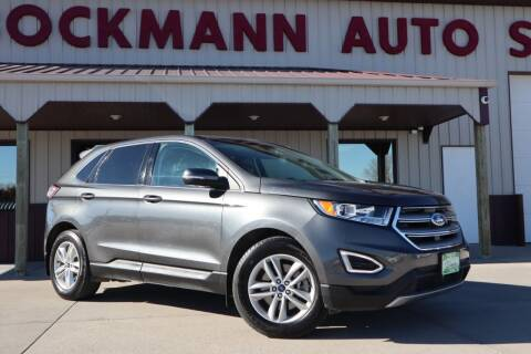 2016 Ford Edge for sale at Bockmann Auto Sales in St. Paul NE