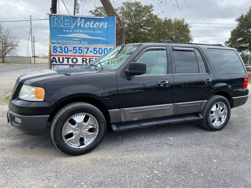 2003 Ford Expedition for sale at K & B Motors LLC in Mc Queeney TX
