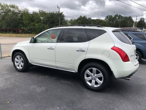 2006 Nissan Murano for sale at Mac's Auto Sales in Camden SC