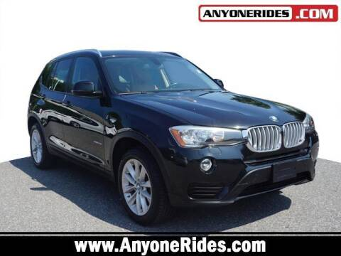 2015 BMW X3 for sale at ANYONERIDES.COM in Kingsville MD