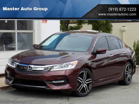 2016 Honda Accord for sale at Master Auto Group in Raleigh NC