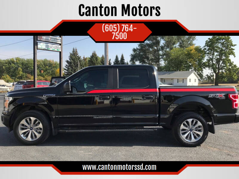 2018 Ford F-150 for sale at Canton Motors in Canton SD
