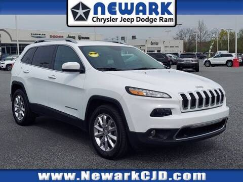 2017 Jeep Cherokee for sale at NEWARK CHRYSLER JEEP DODGE in Newark DE