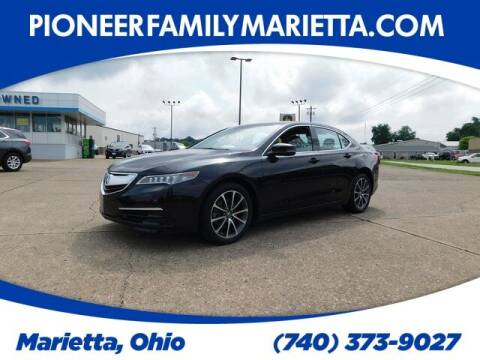2015 Acura TLX for sale at Pioneer Family preowned autos in Williamstown WV
