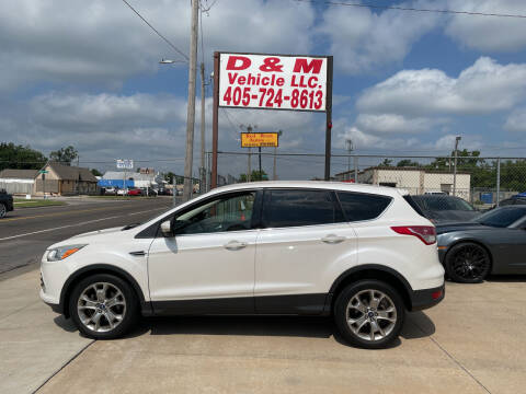 2013 Ford Escape for sale at D & M Vehicle LLC in Oklahoma City OK
