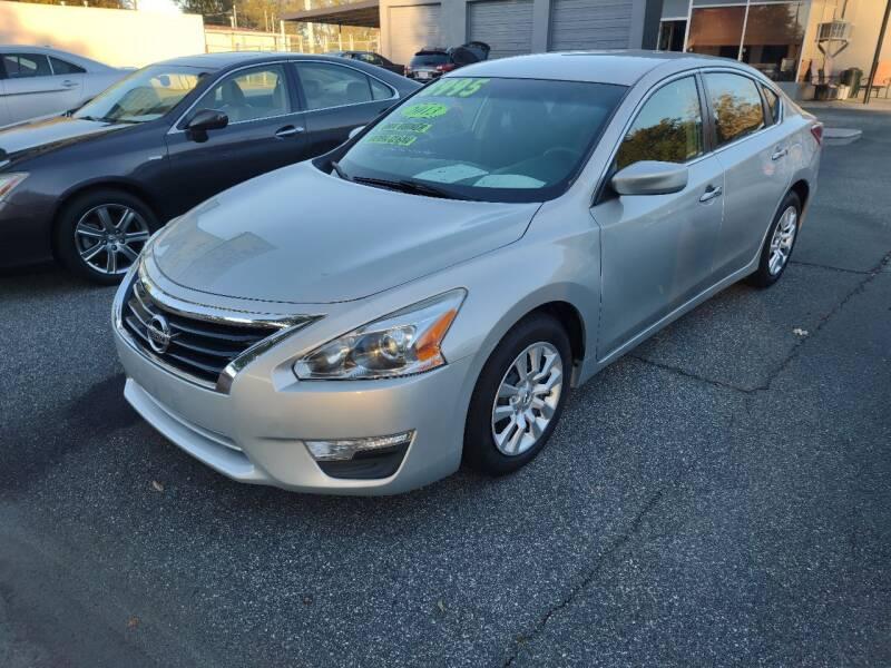 2013 Nissan Altima for sale at DON BAILEY AUTO SALES in Phenix City AL