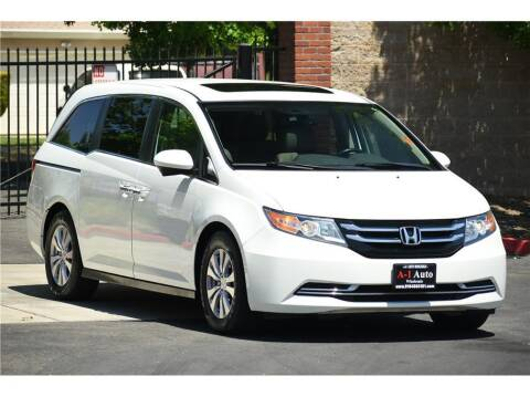 2014 Honda Odyssey for sale at A-1 Auto Wholesale in Sacramento CA