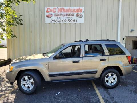 2005 Jeep Grand Cherokee for sale at C & C Wholesale in Cleveland OH
