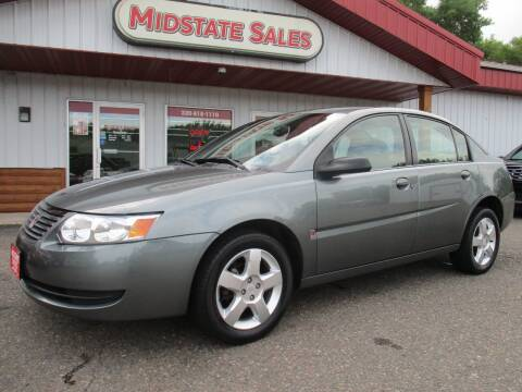 2007 Saturn Ion for sale at Midstate Sales in Foley MN
