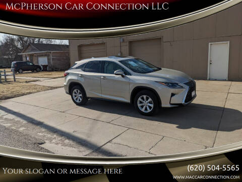 2017 Lexus RX 350 for sale at McPherson Car Connection LLC in Mcpherson KS