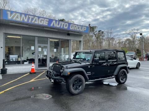 2015 Jeep Wrangler Unlimited for sale at Vantage Auto Group in Brick NJ