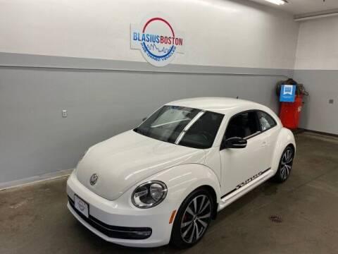 2012 Volkswagen Beetle for sale at WCG Enterprises in Holliston MA