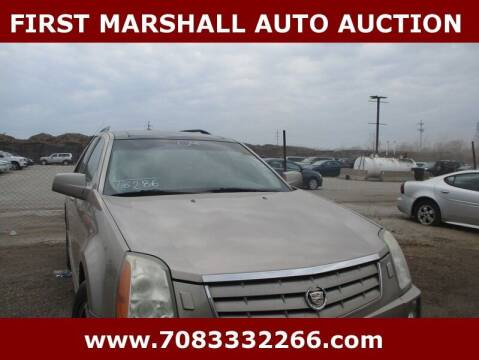 2004 Cadillac SRX for sale at First Marshall Auto Auction in Harvey IL