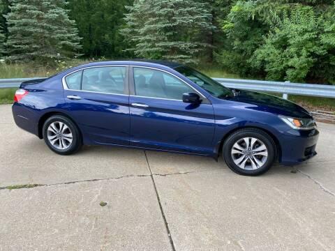 2014 Honda Accord for sale at Encore Auto in Niles MI