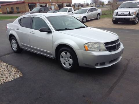 2008 Dodge Avenger for sale at Bruns & Sons Auto in Plover WI