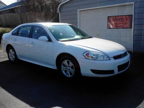 2010 Chevrolet Impala for sale at Marty's Auto Sales in Lenoir City TN