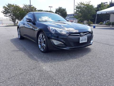 2015 Hyundai Genesis Coupe for sale at A&R MOTORS in Portsmouth VA