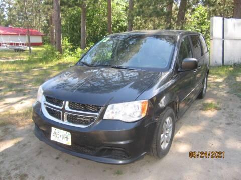 2012 Dodge Grand Caravan for sale at SUNNYBROOK USED CARS in Menahga MN