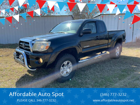 2005 Toyota Tacoma for sale at Affordable Auto Spot in Houston TX