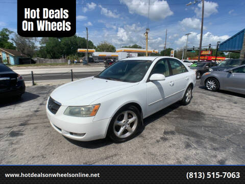 2007 Hyundai Sonata for sale at Hot Deals On Wheels in Tampa FL