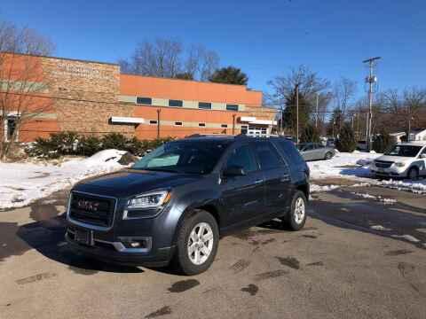 2013 GMC Acadia for sale at DILLON LAKE MOTORS LLC in Zanesville OH