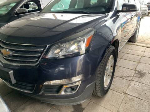 2013 Chevrolet Traverse for sale at BULLSEYE MOTORS INC in New Braunfels TX