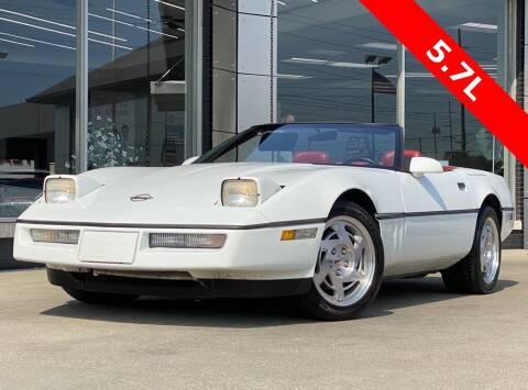 1990 Chevrolet Corvette for sale at Carmel Motors in Indianapolis IN