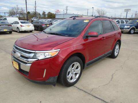 2012 Ford Edge for sale at BAS MOTORS in Houston TX