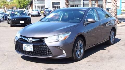 2015 Toyota Camry for sale at Okaidi Auto Sales in Sacramento CA