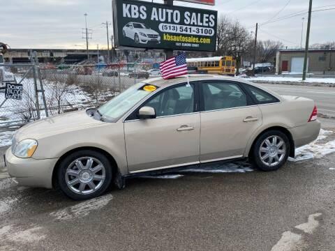 2007 Mercury Montego for sale at KBS Auto Sales in Cincinnati OH
