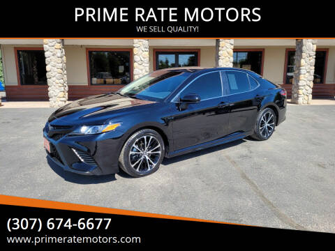 2018 Toyota Camry for sale at PRIME RATE MOTORS in Sheridan WY