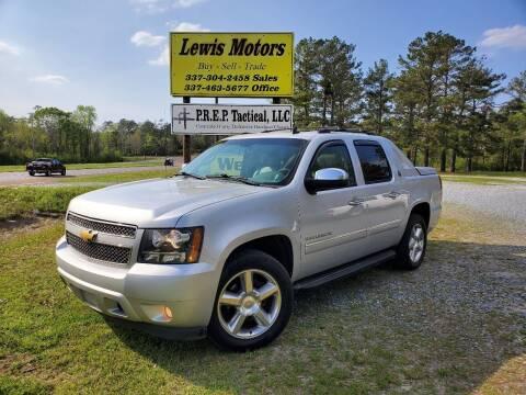 2013 Chevrolet Avalanche for sale at Lewis Motors LLC in Deridder LA