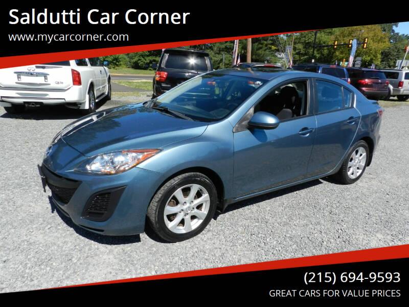 2010 Mazda MAZDA3 for sale at Saldutti Car Corner in Gilbertsville PA