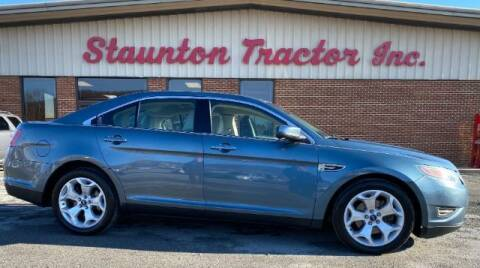 2010 Ford Taurus for sale at STAUNTON TRACTOR INC in Staunton VA
