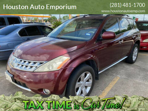 2006 Nissan Murano for sale at Houston Auto Emporium in Houston TX