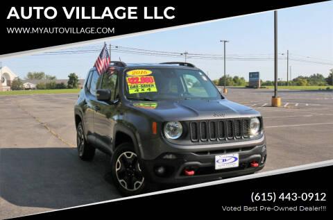 2016 Jeep Renegade for sale at AUTO VILLAGE LLC in Lebanon TN