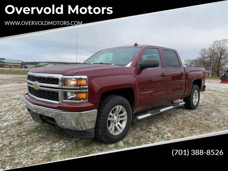 2014 Chevrolet Silverado 1500 for sale at Overvold Motors in Detriot Lakes MN