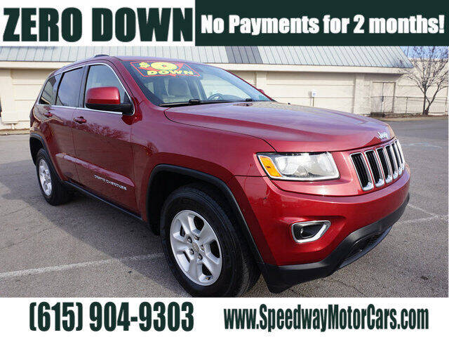 2015 Jeep Grand Cherokee for sale at Speedway Motors in Murfreesboro TN